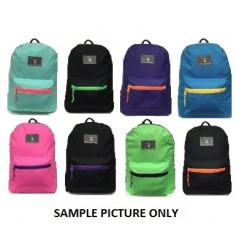 """19"""" Wholesale EagleSport Backpack Two Tone $6.00 Each."""