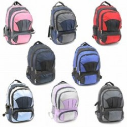"18"" Wholesale Backpacks $6.50 Each."