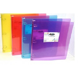 "1"" 3 Ring Poly Textured Binder $0.90 Each."