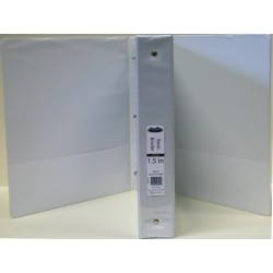 "1.5"" 3 Ring White View Binder $1.78 Each."