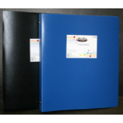 "1"" 3 Ring Poly Binder Price of $0.90 Each."