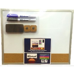 Magnetic Dry Erase Cork Combo Board $3.69 Each.