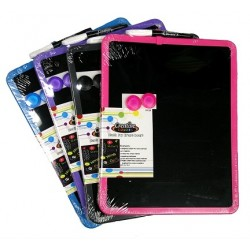 Black Magnetic Dry Erase Board $3.09 Each.
