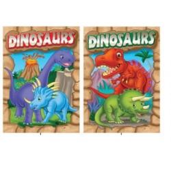 Foil & Embossed Dinosaurs $0.75 Each.