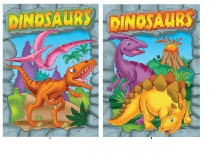 Wholesale Dinosaurs Coloring Books $0.70 Each.