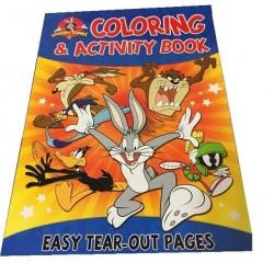 Looney Tunes Color & Activity $0.75 Each.