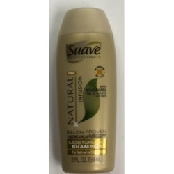 2 oz. Suave Shampoo $0.42 Each.