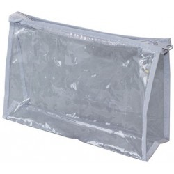 "8"" Wholesale Vinyl Pouch in Bulk at $0.74 Each."