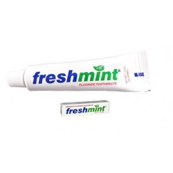 1.5 oz Tube of Toothpaste at a price of $0.42 Cents Each.