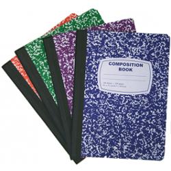Wholesale Composition Notebooks $0.78 Cents Each.