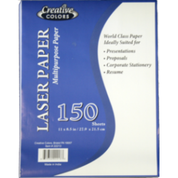 Wholesale Laser Paper $1.89 Each.