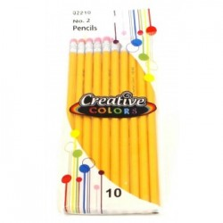 Wholesale #2 Pencils 10 pack $0.70 Each.