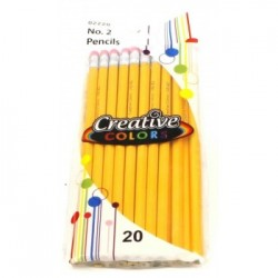 Wholesale #2 Pencils 20 Pack $1.20 Each.