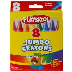 Playskool Jumbo Crayons $0.65 Each.