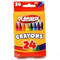 Playskool Crayons 24 ct $0.75 Each