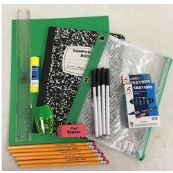 Wholesale 10 Piece School Supply Kit $3.75 ea.