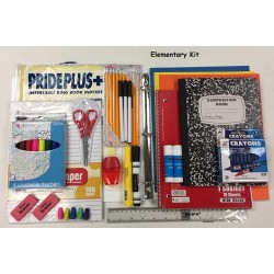 25 piece Elementary School Kit (3rd to 5th Grades) $9.50 ea.