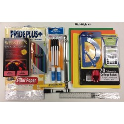 25 Piece Middle High School Kit (6th-12th Grades) $9.95 ea.