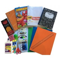 Wholesale Primary Kit K-2nd Grade School Supply Kits $8.50 ea.