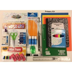24 Piece Primary Kit (1st-2nd Grade) School Supply Kits $9.25 ea.