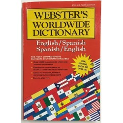 Spanish / English Dictionary $0.80 Each
