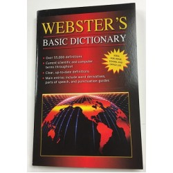 Webster's Basic Dictionary $0.80 Each