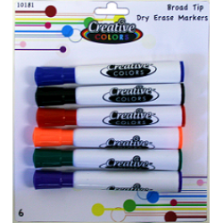 Wholesale Dry Erase Markers at a price of $2.29 Each.