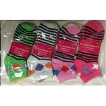 DS Pattern Socks $4.75-dozen