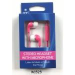 ONN Earbuds w/ Mic. $1.95 EA.