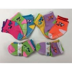 0-2 Girls Socks $5.50 Each Dozen