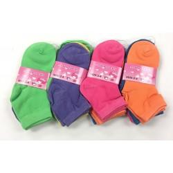 2-4 Girls Socks $5.50 Each Dozen