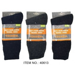 Men's Thermal Socks $0.99 Each.