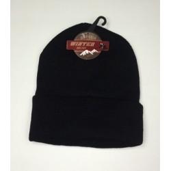 Wholesale Winter Black Hat $0.89 Each.