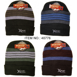 Men's X-Sport Winter Hat $1.35 Each.