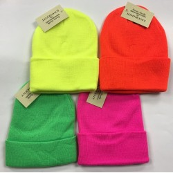 Neon Winter Hats $1.39 Each.