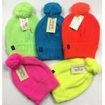 Neon Hats w/ Pom Pom $1.59 EA.
