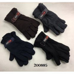 Men's Fleece Gloves $1.29 Each.