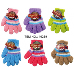 Wholesale Kid's Gloves $0.74 Each.