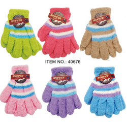 Ladies Microfiber Gloves $0.79 Each.