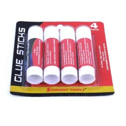 Glue Sticks 4 pk. $0.80 each