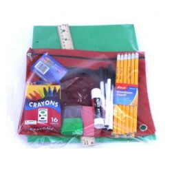 Wholesale 10 Piece School Supply Kit $4.00